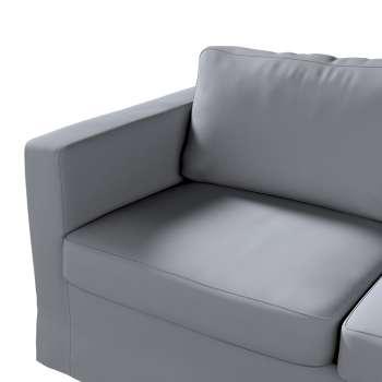 Karlstad 2-Sitzer Sofabezug nicht ausklappbar lang von der Kollektion Cotton Panama, Stoff: 702-07