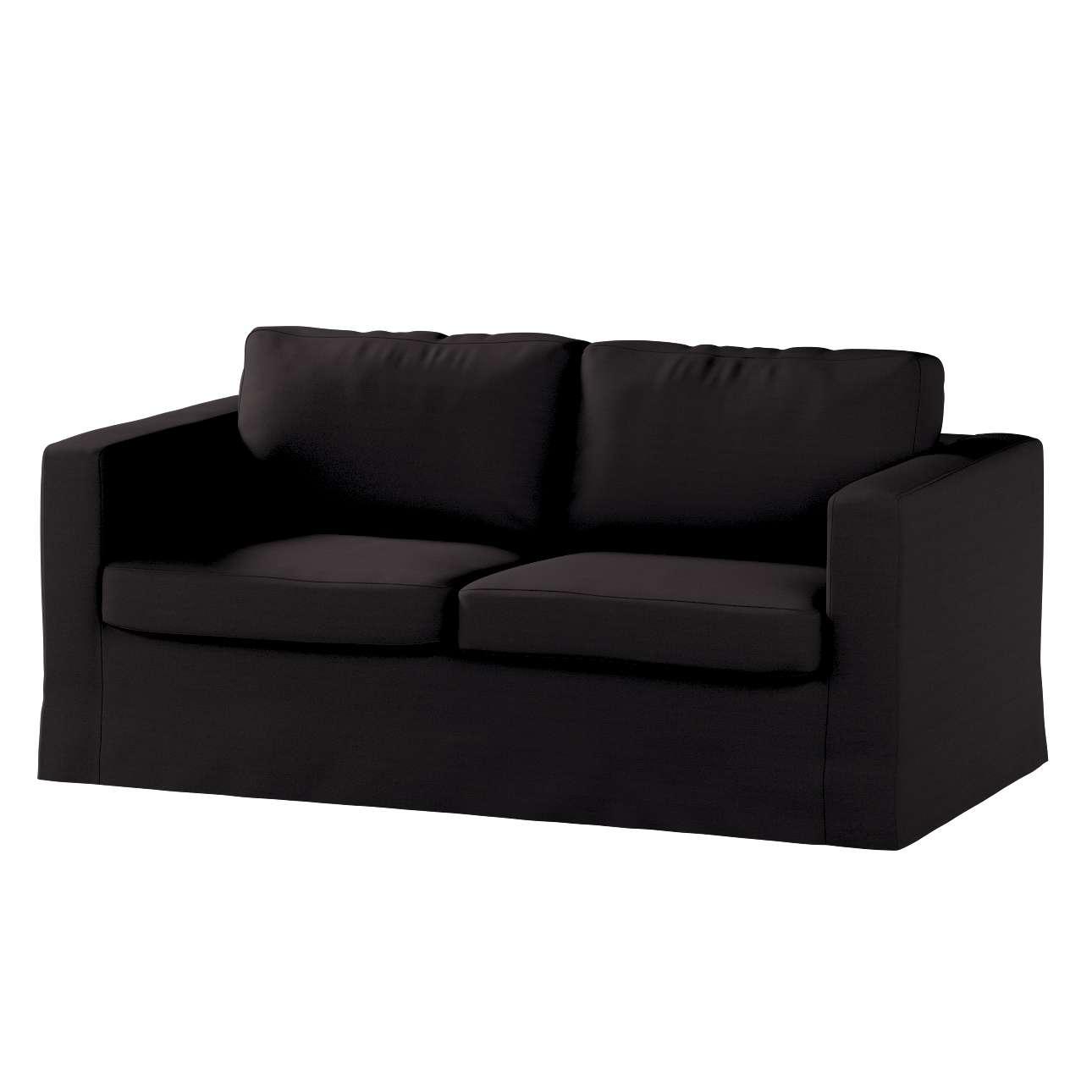 Karlstad dvivietės sofos užvalkalas (ilgas, iki žemės) Karlstad dvivietė sofa kolekcijoje Cotton Panama, audinys: 702-08