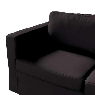 Pokrowiec na sofę Karlstad 2-osobową nierozkładaną długi w kolekcji Cotton Panama, tkanina: 702-08
