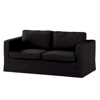 Karlstad 2-Sitzer Sofabezug nicht ausklappbar lang von der Kollektion Cotton Panama, Stoff: 702-09