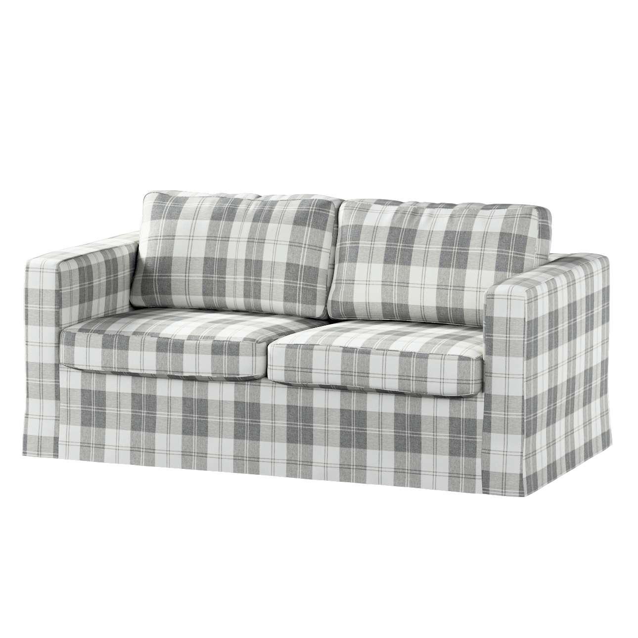 Karlstad 2-Sitzer Sofabezug nicht ausklappbar lang Sofahusse, Karlstad 2-Sitzer von der Kollektion Edinburgh , Stoff: 115-79