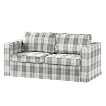 Floor length Karlstad 2-seater sofa cover in collection Edinburgh, fabric: 115-79