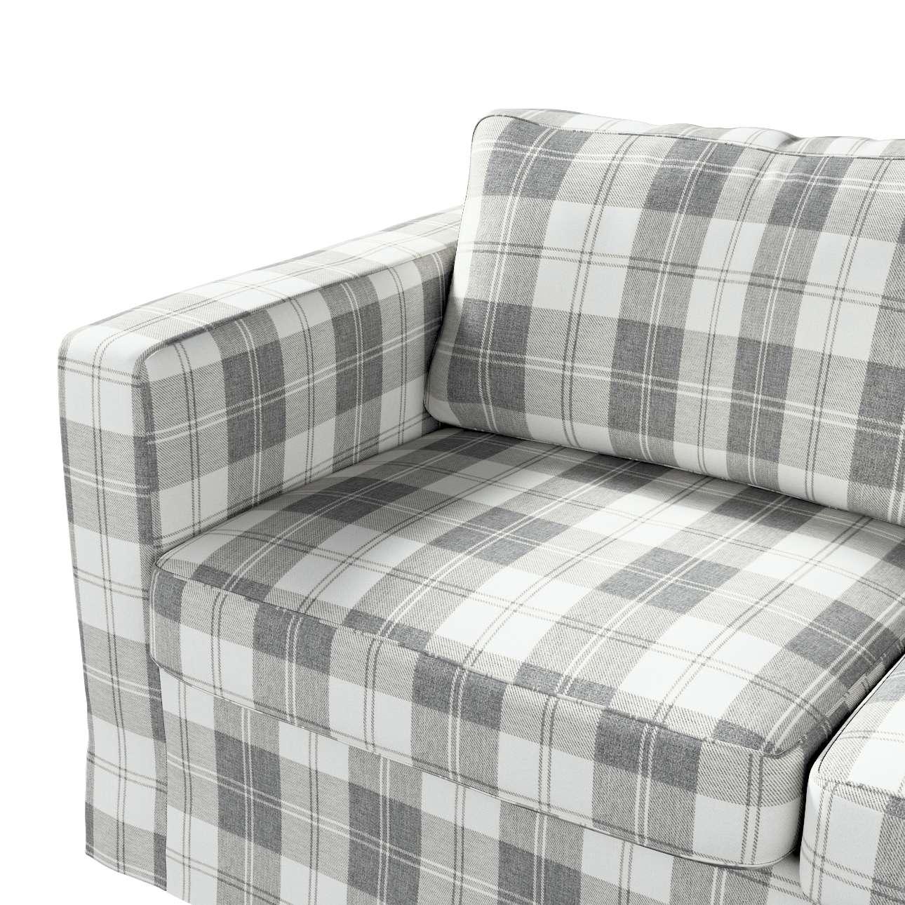 Pokrowiec na sofę Karlstad 2-osobową nierozkładaną długi w kolekcji Edinburgh, tkanina: 115-79