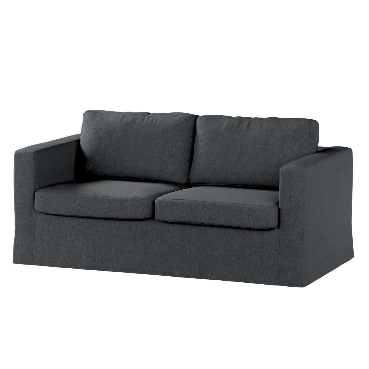 Karlstad dvivietės sofos užvalkalas (ilgas, iki žemės) Karlstad dvivietė sofa kolekcijoje Chenille, audinys: 702-20