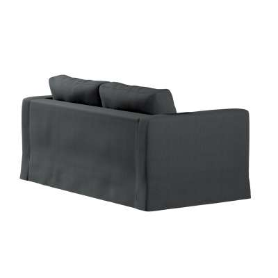 Pokrowiec na sofę Karlstad 2-osobową nierozkładaną długi w kolekcji Chenille, tkanina: 702-20