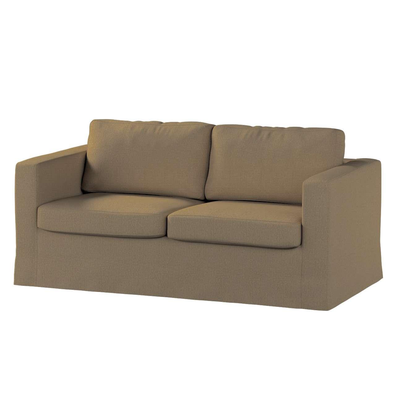 Karlstad 2-Sitzer Sofabezug nicht ausklappbar lang Sofahusse, Karlstad 2-Sitzer von der Kollektion Chenille , Stoff: 702-21
