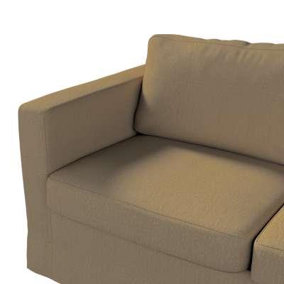 Pokrowiec na sofę Karlstad 2-osobową nierozkładaną długi w kolekcji Chenille, tkanina: 702-21