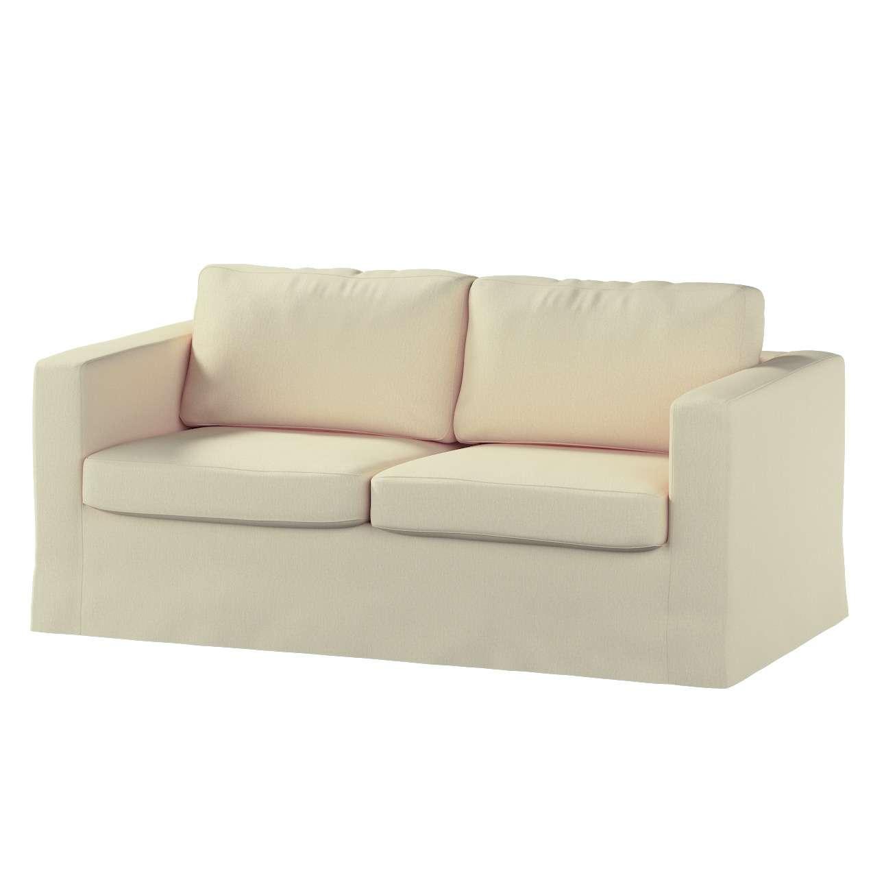 Pokrowiec na sofę Karlstad 2-osobową nierozkładaną długi Sofa Karlstad 2-osobowa w kolekcji Chenille, tkanina: 702-22