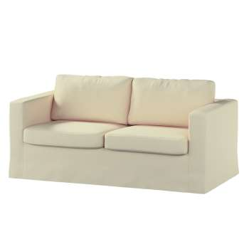 Floor length Karlstad 2-seater sofa cover in collection Chenille, fabric: 702-22