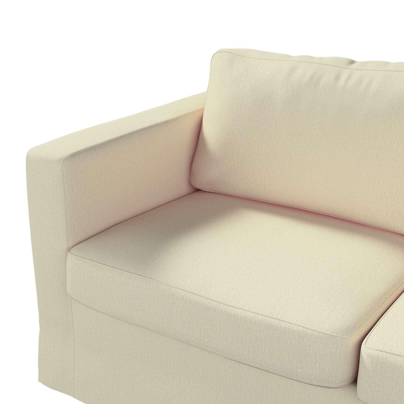 Pokrowiec na sofę Karlstad 2-osobową nierozkładaną długi w kolekcji Chenille, tkanina: 702-22