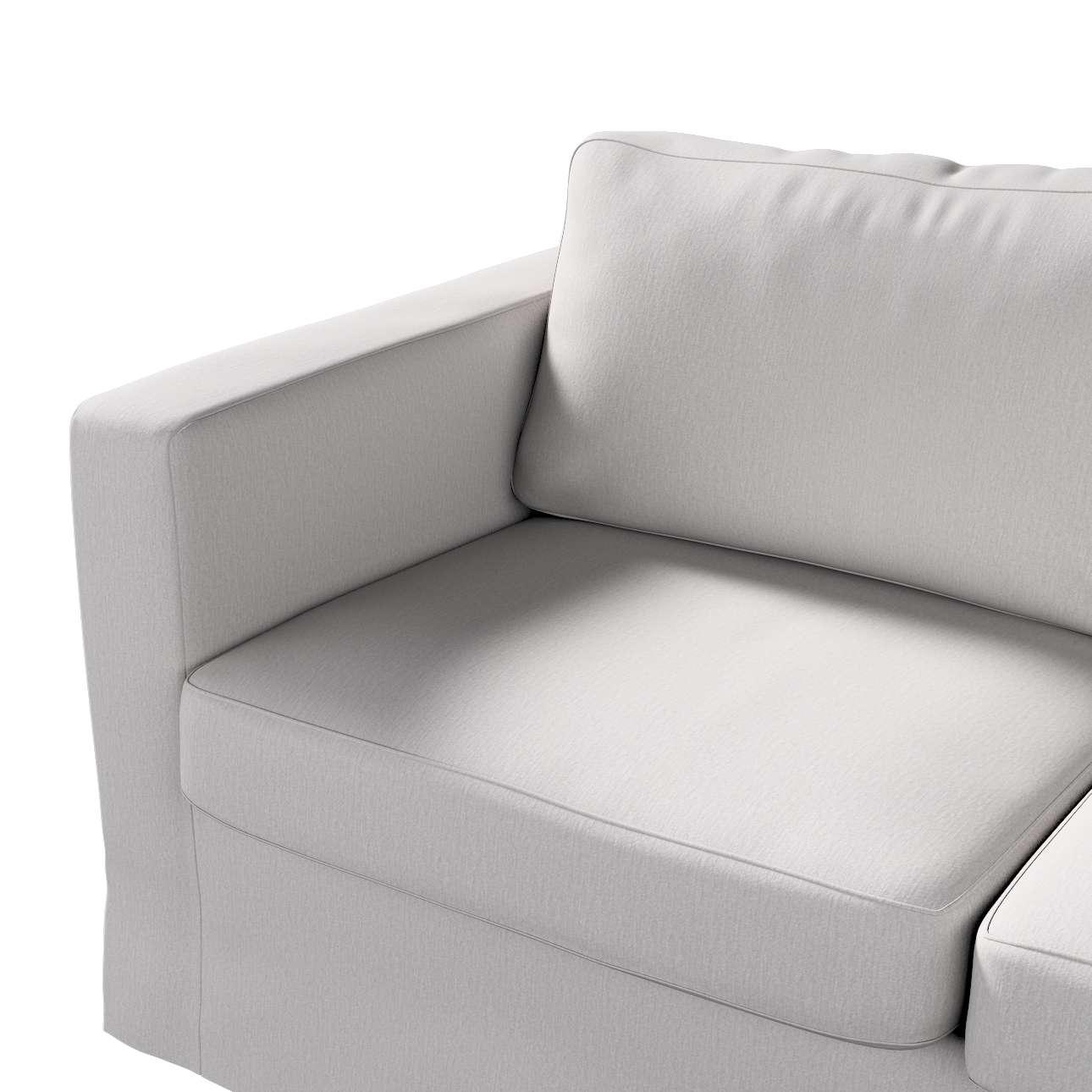 Pokrowiec na sofę Karlstad 2-osobową nierozkładaną długi w kolekcji Chenille, tkanina: 702-23