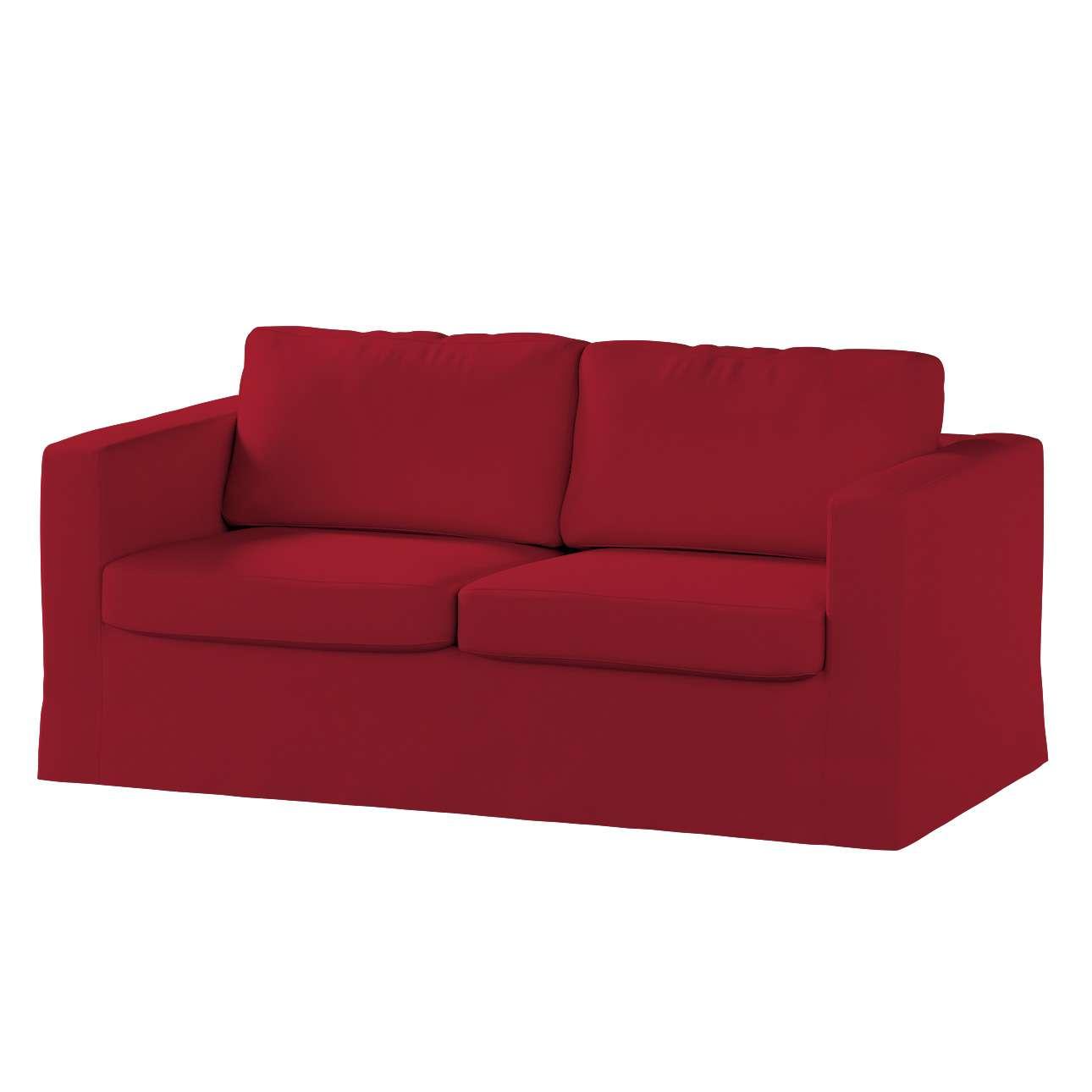 Karlstad dvivietės sofos užvalkalas (ilgas, iki žemės) Karlstad dvivietė sofa kolekcijoje Chenille, audinys: 702-24