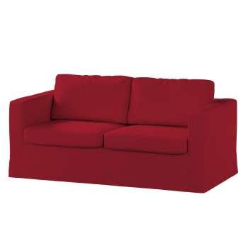 Pokrowiec na sofę Karlstad 2-osobową nierozkładaną długi w kolekcji Chenille, tkanina: 702-24