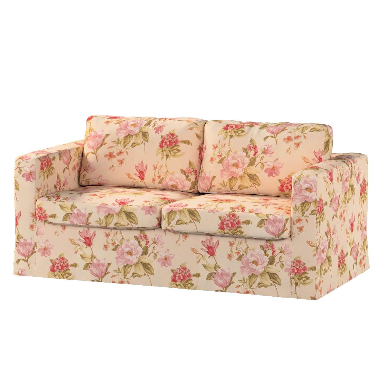 Karlstad 2-Sitzer Sofabezug nicht ausklappbar lang Sofahusse, Karlstad 2-Sitzer von der Kollektion Londres, Stoff: 123-05