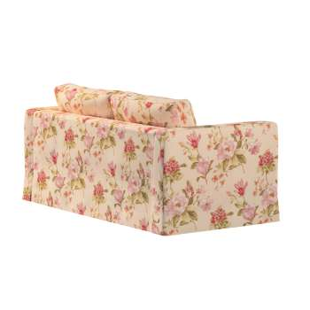 Floor length Karlstad 2-seater sofa cover in collection Londres, fabric: 123-05