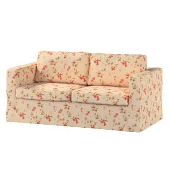 Floor length Karlstad 2-seater sofa cover in collection Londres, fabric: 124-05