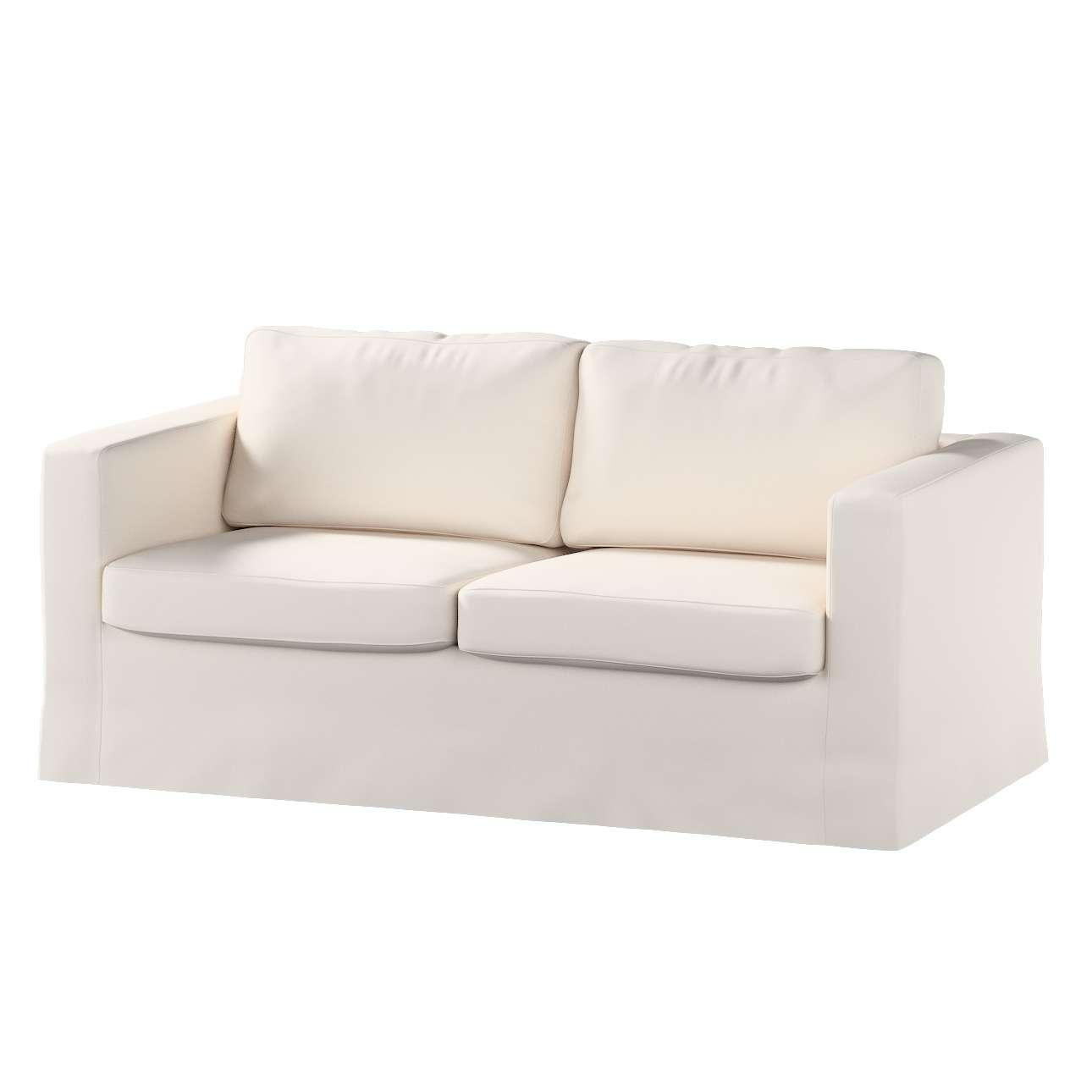 Pokrowiec na sofę Karlstad 2-osobową nierozkładaną długi w kolekcji Etna , tkanina: 705-01