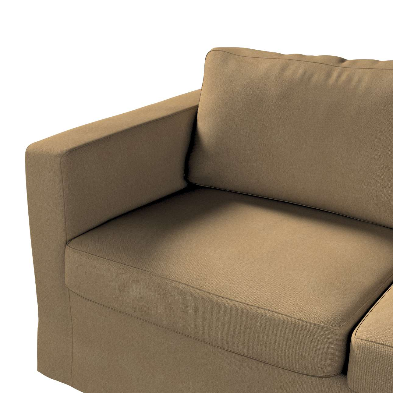 Floor length Karlstad 2-seater sofa cover in collection Etna, fabric: 705-06
