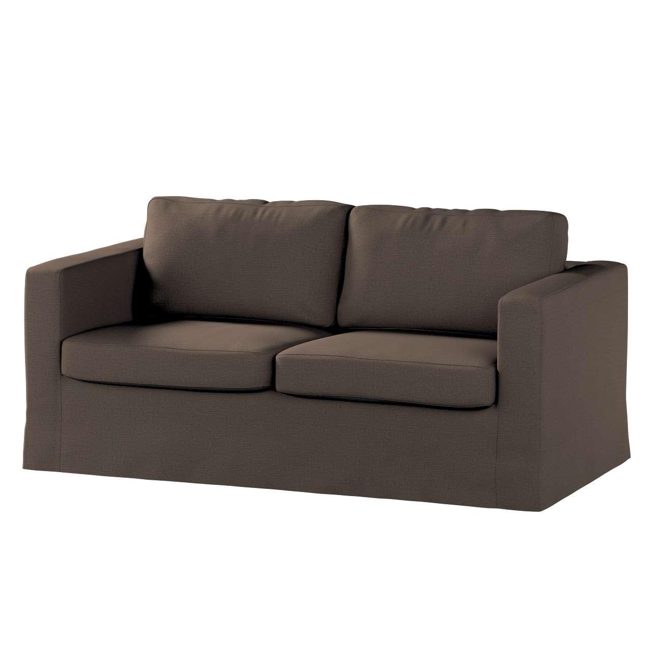 Karlstad 2-Sitzer Sofabezug nicht ausklappbar lang Sofahusse, Karlstad 2-Sitzer von der Kollektion Etna, Stoff: 705-08