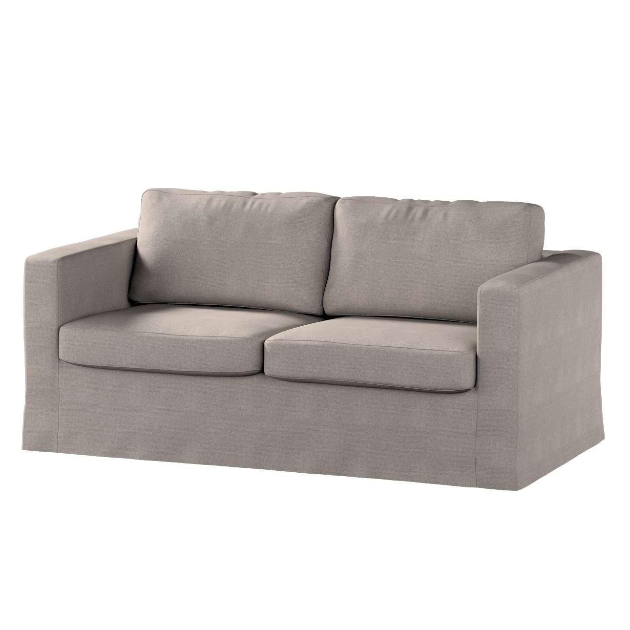 Karlstad 2-Sitzer Sofabezug nicht ausklappbar lang von der Kollektion Etna, Stoff: 705-09