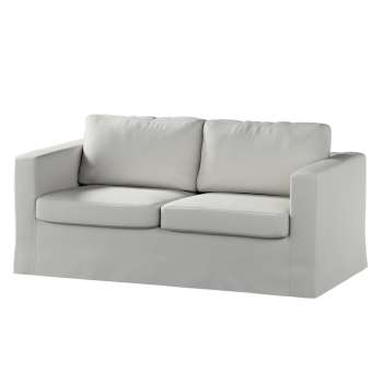Floor length Karlstad 2-seater sofa cover in collection Etna, fabric: 705-90