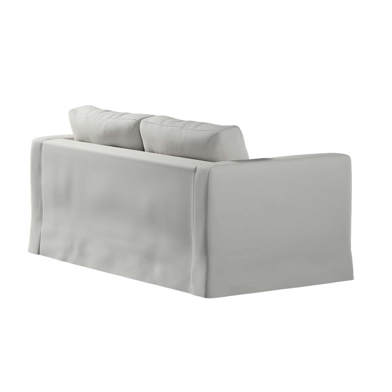 Pokrowiec na sofę Karlstad 2-osobową nierozkładaną długi w kolekcji Etna, tkanina: 705-90