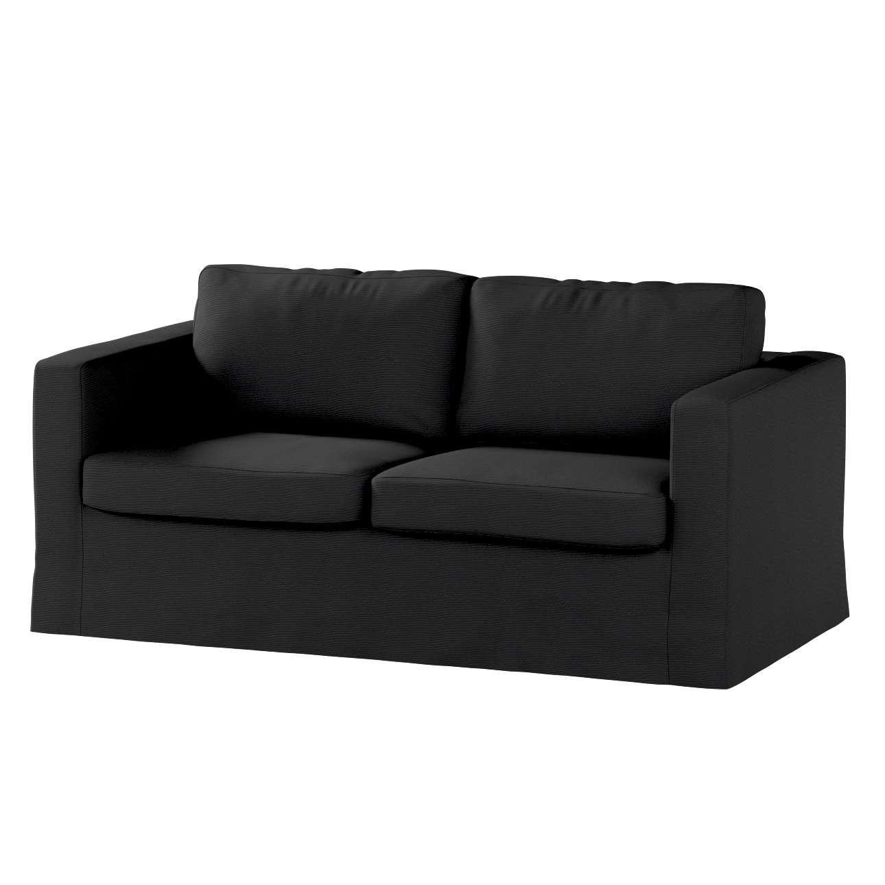 Pokrowiec na sofę Karlstad 2-osobową nierozkładaną długi w kolekcji Etna , tkanina: 705-00
