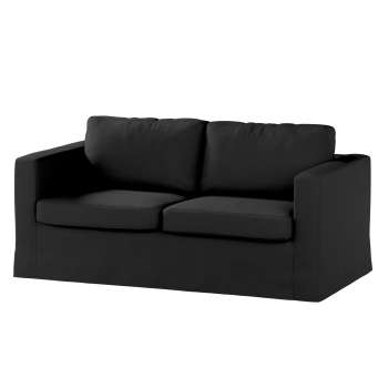 Floor length Karlstad 2-seater sofa cover in collection Etna, fabric: 705-00