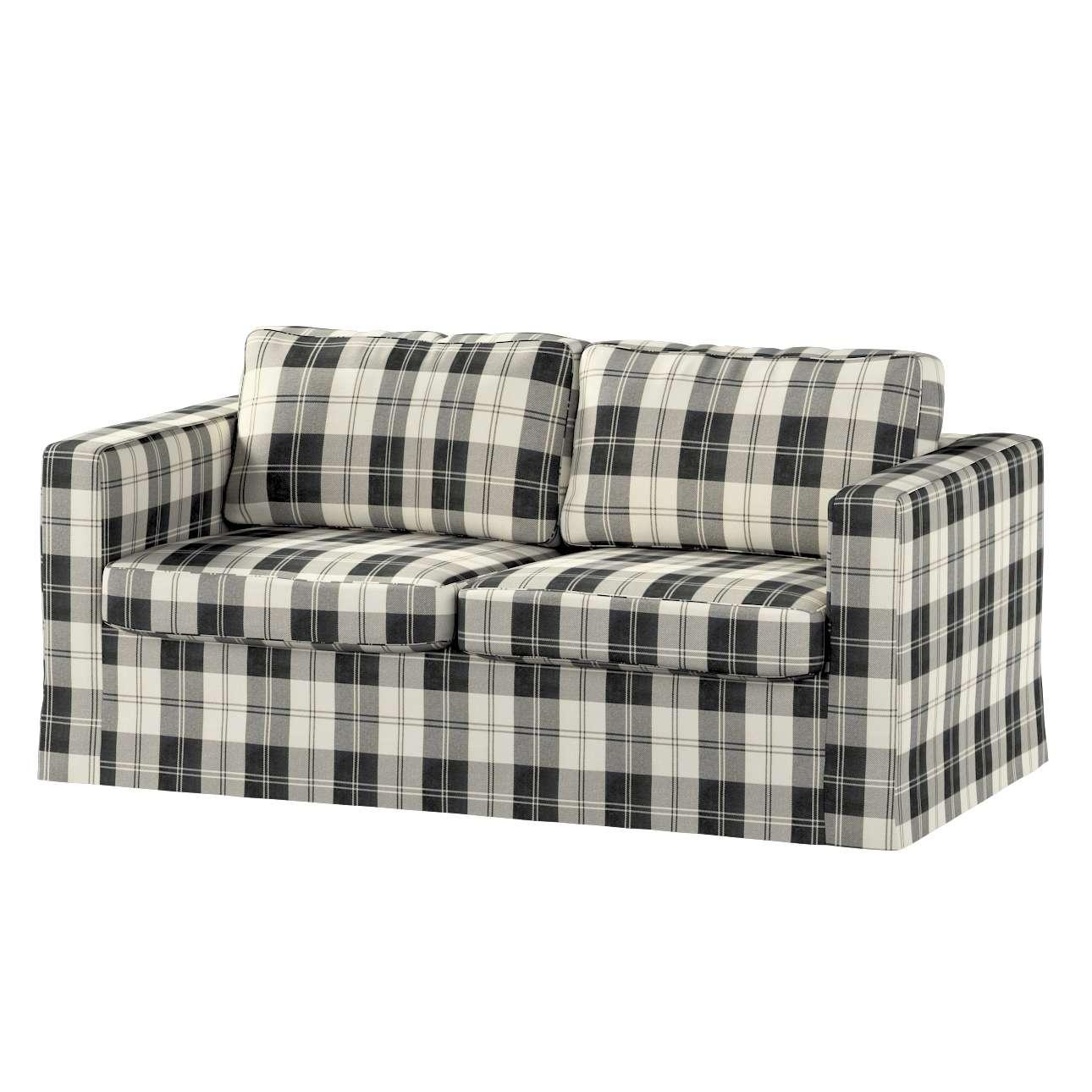 Karlstad 2-Sitzer Sofabezug nicht ausklappbar lang von der Kollektion Edinburgh , Stoff: 115-74