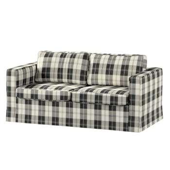 Karlstad 2-Sitzer Sofabezug nicht ausklappbar lang Sofahusse, Karlstad 2-Sitzer von der Kollektion Edinburgh , Stoff: 115-74