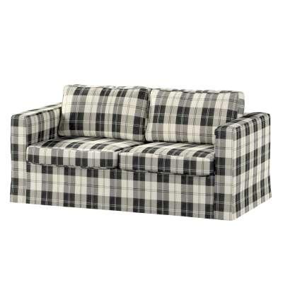 Pokrowiec na sofę Karlstad 2-osobową nierozkładaną długi w kolekcji Edinburgh, tkanina: 115-74