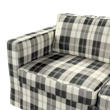 Floor length Karlstad 2-seater sofa cover in collection Edinburgh, fabric: 115-74