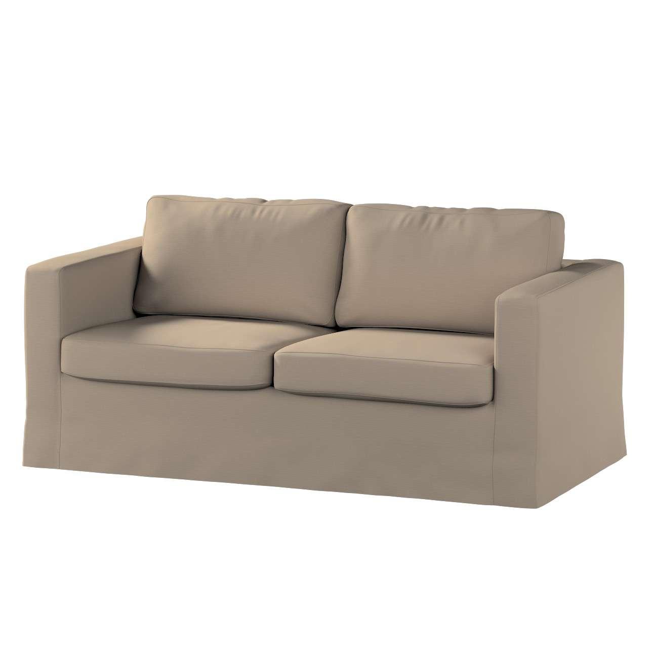 Potah na pohovku IKEA  Karlstad 2-místná , nerozkládací, dlouhý pohovka Karlstad 2-místná v kolekci Cotton Panama, látka: 702-28