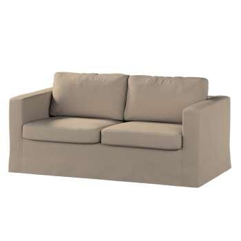 Pokrowiec na sofę Karlstad 2-osobową nierozkładaną długi Sofa Karlstad 2-osobowa w kolekcji Cotton Panama, tkanina: 702-28