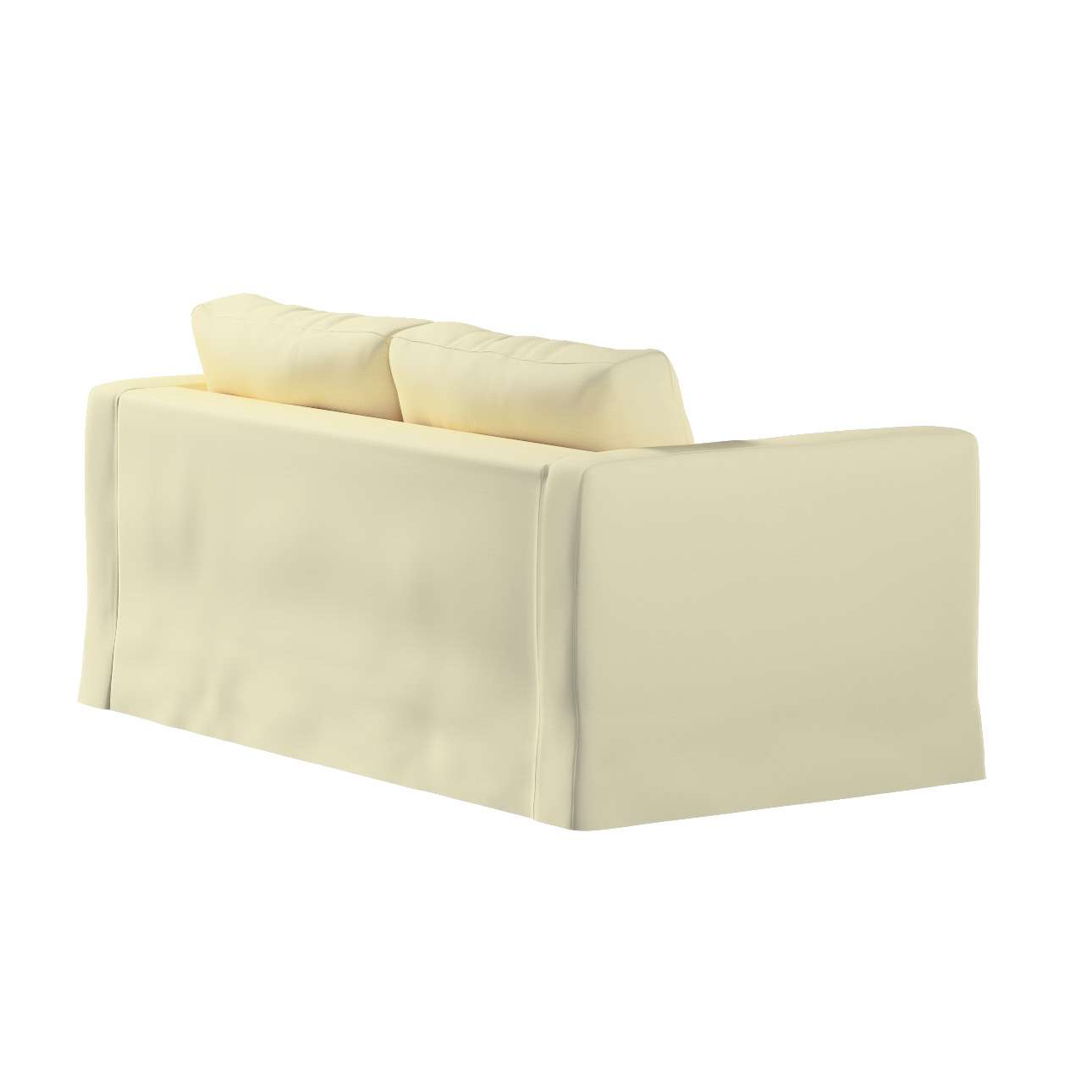 Floor length Karlstad 2-seater sofa cover in collection Panama Cotton, fabric: 702-29