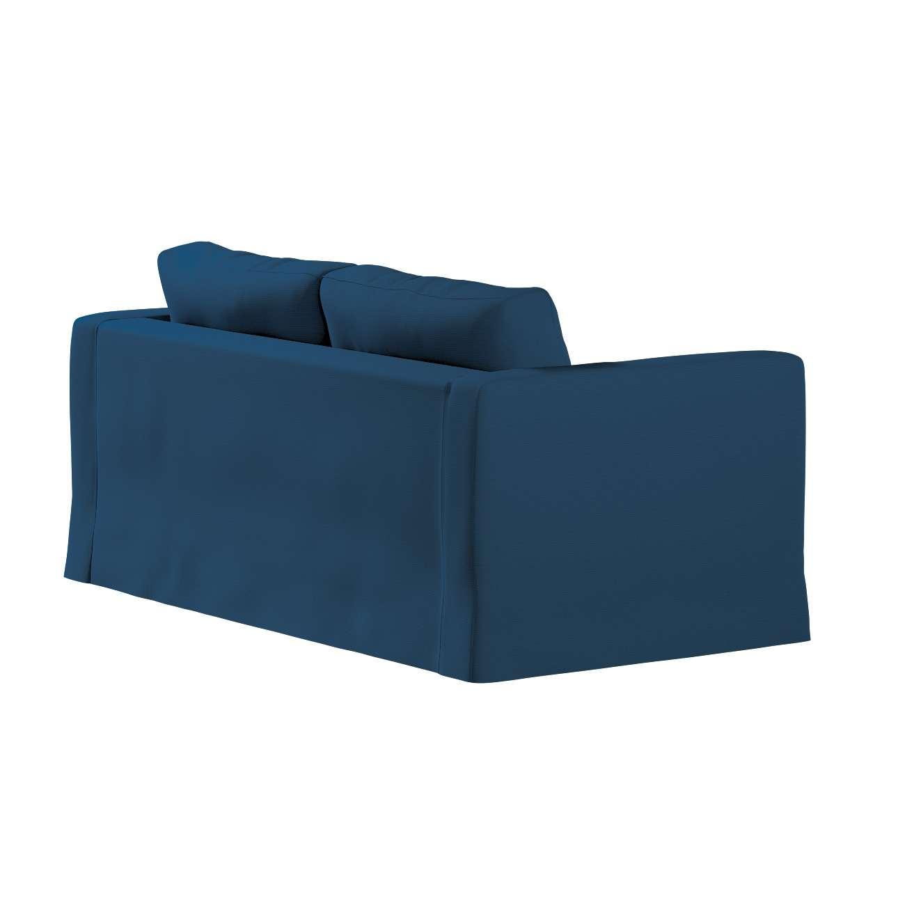 Pokrowiec na sofę Karlstad 2-osobową nierozkładaną długi w kolekcji Cotton Panama, tkanina: 702-30