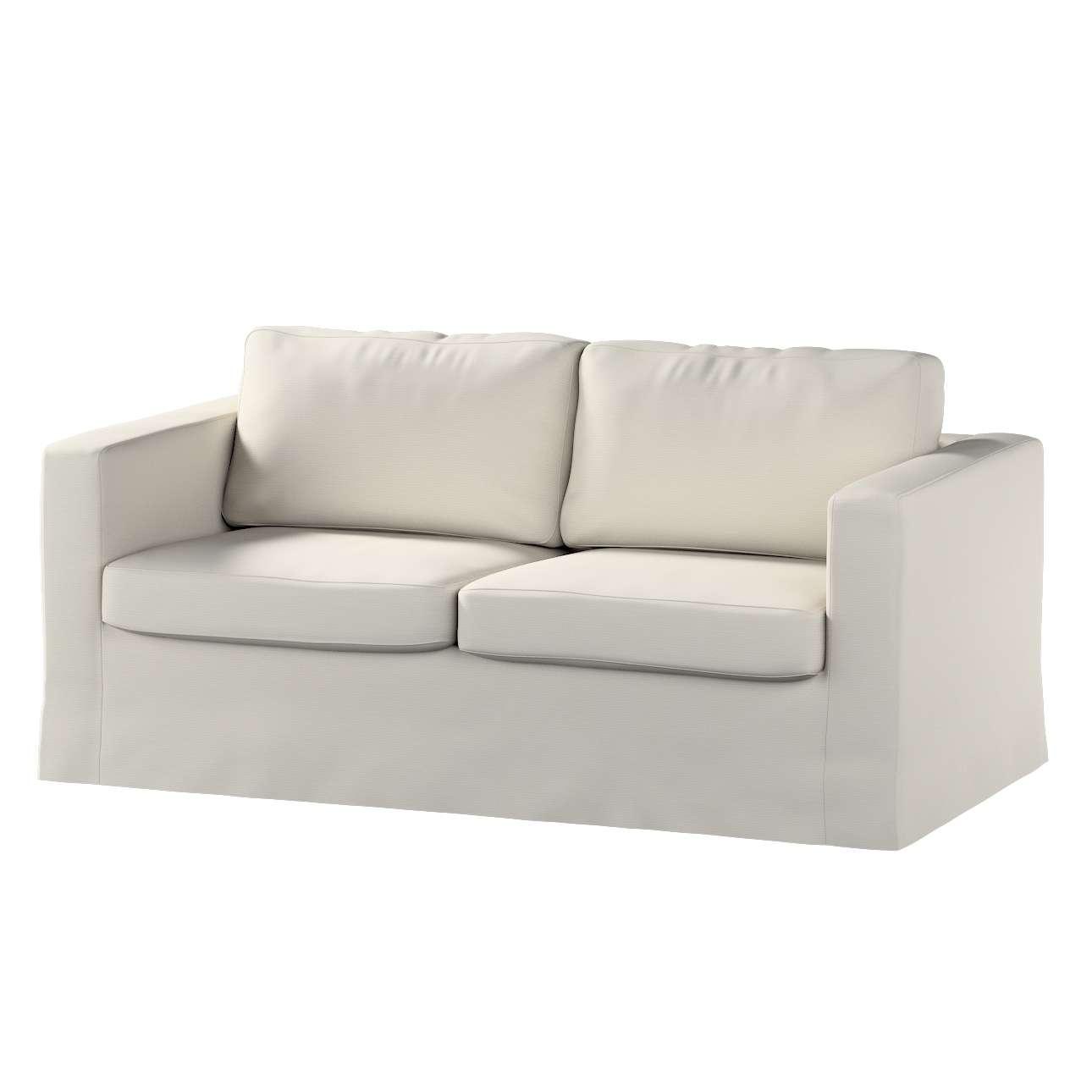 Potah na pohovku IKEA  Karlstad 2-místná , nerozkládací, dlouhý pohovka Karlstad 2-místná v kolekci Cotton Panama, látka: 702-31