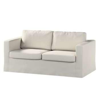 Karlstad 2-Sitzer Sofabezug nicht ausklappbar lang von der Kollektion Cotton Panama, Stoff: 702-31