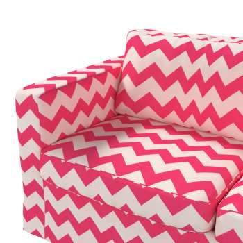 Floor length Karlstad 2-seater sofa cover in collection Comics/Geometrical, fabric: 135-00
