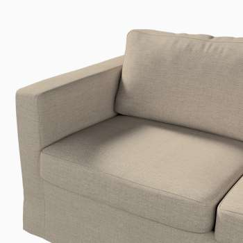 Floor length Karlstad 2-seater sofa cover in collection Living, fabric: 104-87