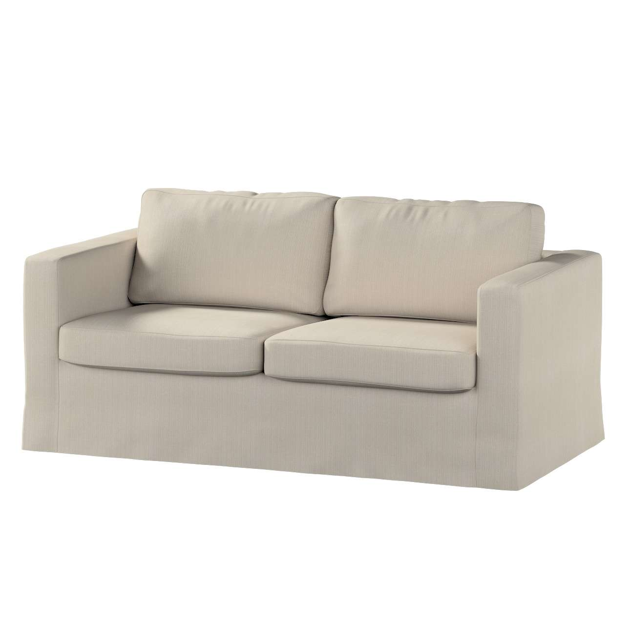 Floor length Karlstad 2-seater sofa cover in collection Granada, fabric: 104-89