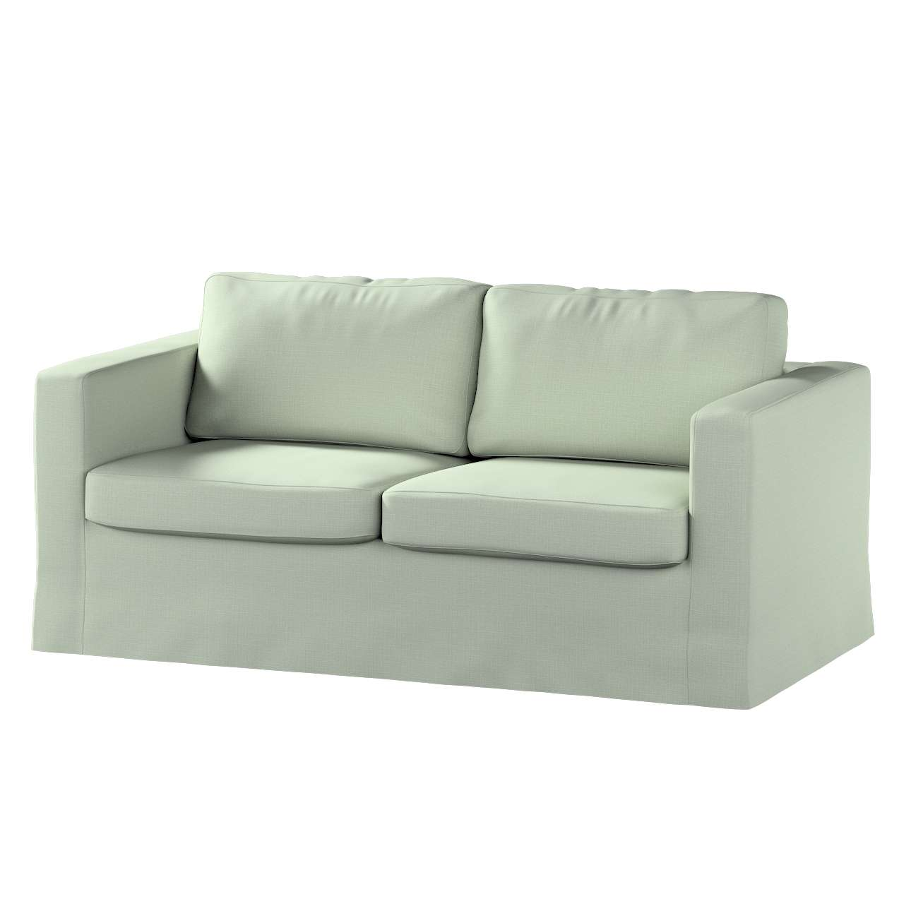 Floor length Karlstad 2-seater sofa cover in collection Granada, fabric: 104-76