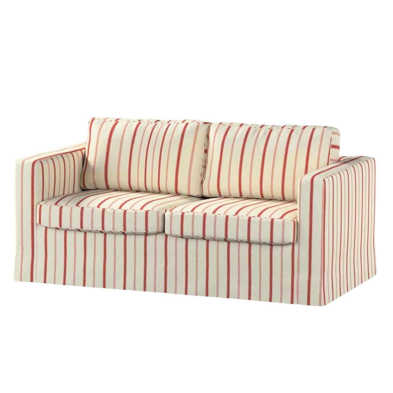 Pokrowiec na sofę Karlstad 2-osobową nierozkładaną długi Sofa Karlstad 2-osobowa w kolekcji Avinon, tkanina: 129-15
