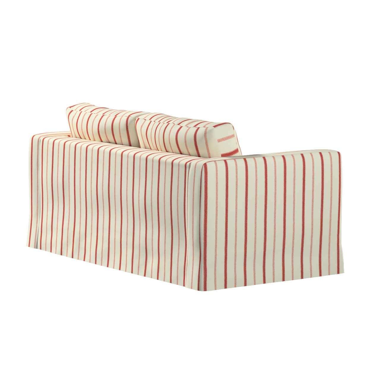 Karlstad 2-Sitzer Sofabezug nicht ausklappbar lang von der Kollektion Avinon, Stoff: 129-15