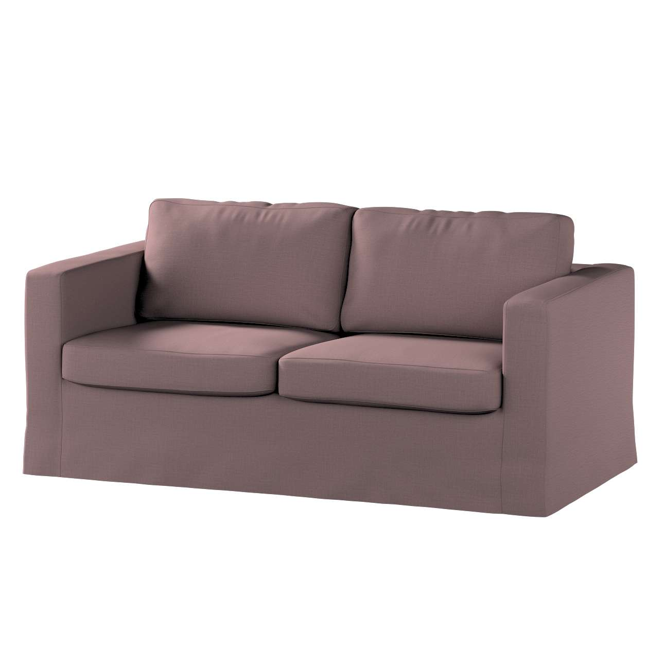 Floor length Karlstad 2-seater sofa cover in collection Living, fabric: 106-63