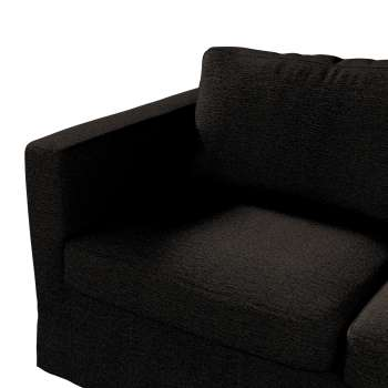 Floor length Karlstad 2-seater sofa cover in collection Madrid, fabric: 105-17