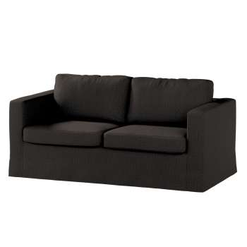 Floor length Karlstad 2-seater sofa cover in collection Etna, fabric: 702-36