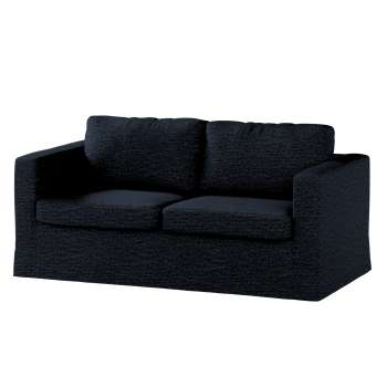 Floor length Karlstad 2-seater sofa cover in collection Vintage, fabric: 702-38