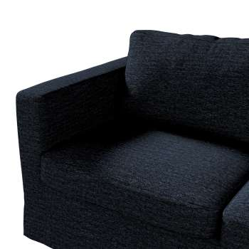 Floor length Karlstad 2-seater sofa cover in collection Etna, fabric: 702-38