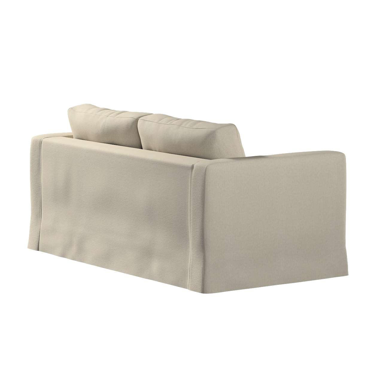 Floor length Karlstad 2-seater sofa cover in collection Etna, fabric: 702-39